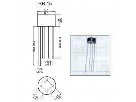 RB156 (800V/1,5A) Диодный мост