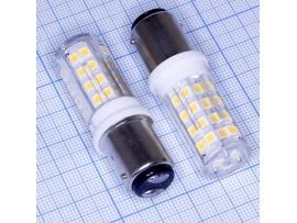 Лампа 220V 4W LED Ba15d 3000k светодиодная
