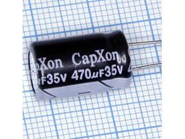 Конд.470/35V 1016 +105°C CapXon