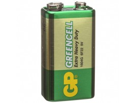 Батарея 9V 6F22 1604G GREENCELL GP