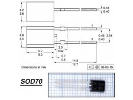 KTY81/110.112 датчик температуры