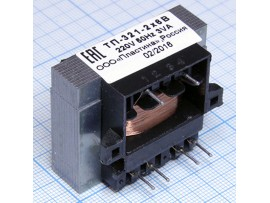 Транс.ТП321-2 (2*6В/0,25А)