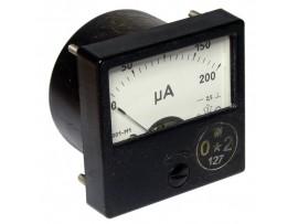 М1001М 0-200мкА микроамперметр 60x60
