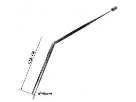 АНТЕННА d=6; 120/380 телескопическая с поворотным мех.