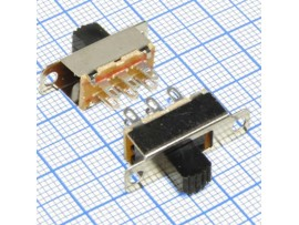 KBB40-2P2W-G6 on-on переключатель движковый