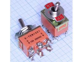 KN3C-202 6к2п 250 V, 15 A Тумблер LIGA-1321