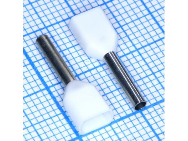 TIC2-0.75-10 наконечник 10мм обжим 0,75мм2