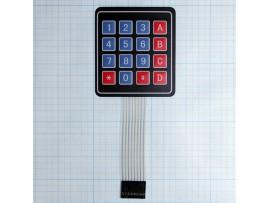 RC004 клавиатура матричная, плёночная (мембранная) 4х4