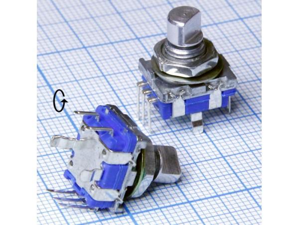 Энкодер R23 металл ручка спил. L=11 мм