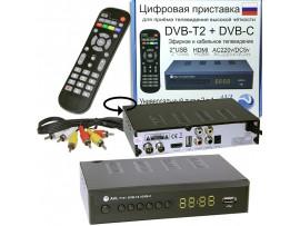 AVL T141 ресивер эфирный+кабельный