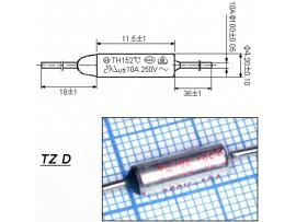 TZ D-185-10A Термопредохранитель