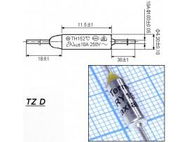 TZ D-139-10A Термопредохранитель