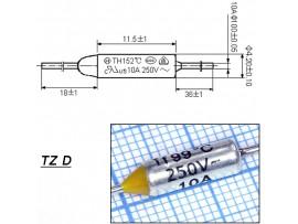 TZ D-099-10А Термопредохранитель