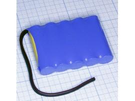 Аккумулятор 6V/800 D-AA800 (5*d=14;L=48) Ni-CD