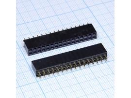 PBD-32 2.54 Розетка 32к.(2х16) на плату