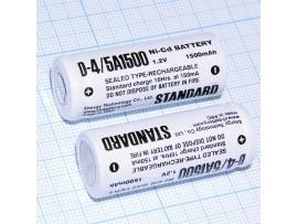 Аккумулятор 1,2V/1500 NiCd (d=17мм;h=43мм)