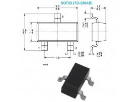 UN2213 чип транзистор