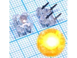 LED HPWT-BL00-00000 янтарный LUMILEDS 7.6x7.6