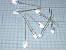 LED HB5-439AWCA white d=5мм