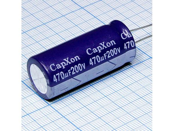 Конд.470/200V 1841 +85°C