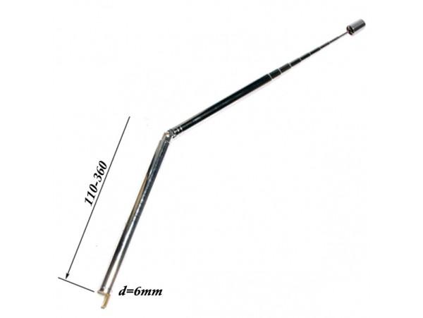 АНТЕННА d=6; 110/360 телескопическая с поворотным устр.