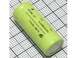 Аккумулятор 1,2V/360 P-36N (d=11,4;L=27,7)NICD