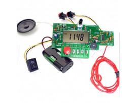 EK-002P радиоприемник. Радиоконструктор - раскраска