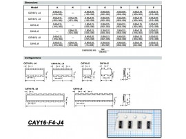 CAY16-150J4 (4х15 Ом±5%) чип.Сборка рез.