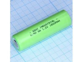 Аккумулятор 1,2V/1600mAh H-AA1600 (d=14;L=48)NIMH