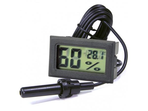 Термометр-гигрометр цифровой с выносным датчиком