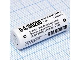 Аккумулятор 1,2V/1200 (d=17;L=43)NICD 4/5A