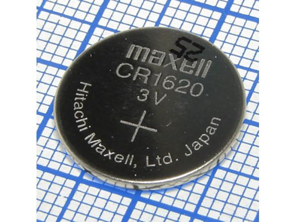 CR1620 Батарея 3V Maxell