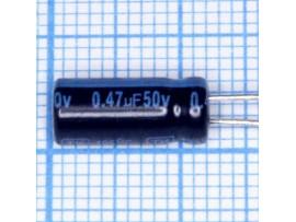 Конд.0,47/50V 0512 +105°C