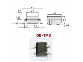 B6S PBF (600V/0.5A) smd Диодный мост