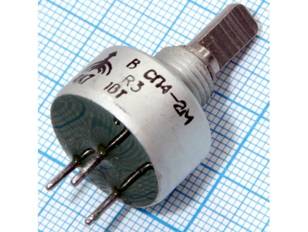 Рез. СП4-2М 4,7к ось=20мм