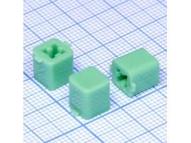 PSM1-K-1-E Колпачок тактового переключателя (зел.)