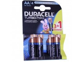 Элемент питания 1,5V LR06 Turbo DURACELL Ultra Power