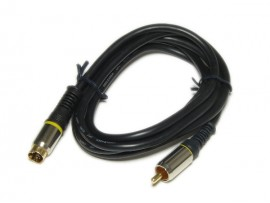 Шнур MINI DIN4=RCA (1,5м)
