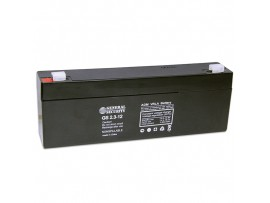 Аккумулятор 12V/2,3Ah GS2.3-12 GS (178х34х60)
