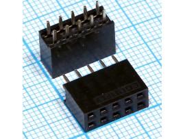 PBD-10 Розетка 10к.(2х5)на плату