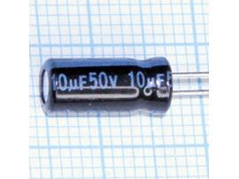 Конд.10/50V 0512 +105C Jamicon