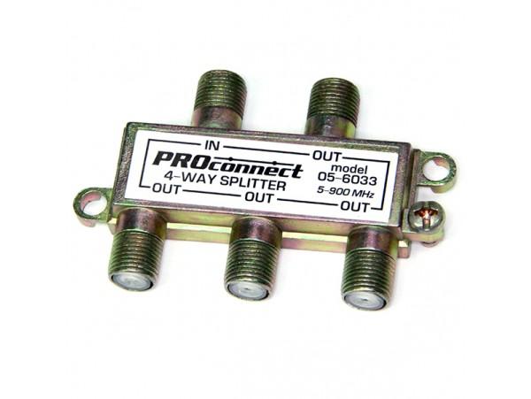 Разветвитель Premier-4 (5-900mHz)
