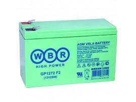 Аккумулятор 12V/7,2Ah GP1272 (150х65х95)
