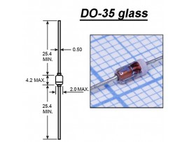 BZX55-C5V6(Стабил.5,6V 0,4W) стекло