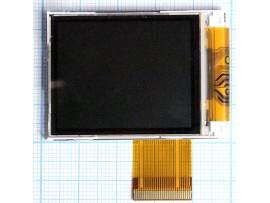 MOT E365 дисплей (цветной, в рамке) ШЛЕЙФ LCD