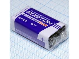 Батарея 9V 6F22 Robiton