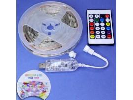 IP67-12V-7.2W Yellow 5м Лента светодиодная