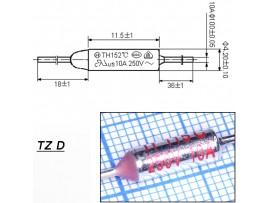 TZ D-115-10A Термопредохранитель