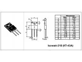 BU808DFX (Rb-e 100-110 Ohm)